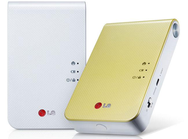 LG покажет на CES 2014 портативный фотопринтер Pocket Photo 2