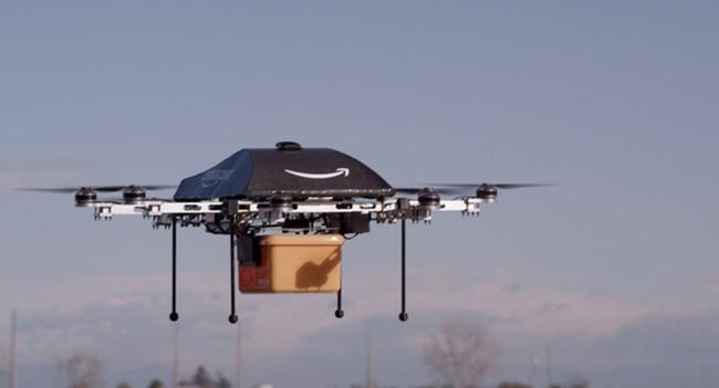 Amazon планирует применять дронов для ускоренной доставки товаров