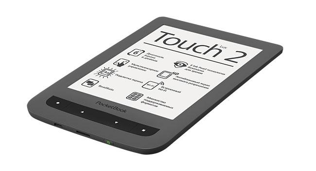 В Украине скоро начнутся продажи ридера PocketBook Touch Lux 2