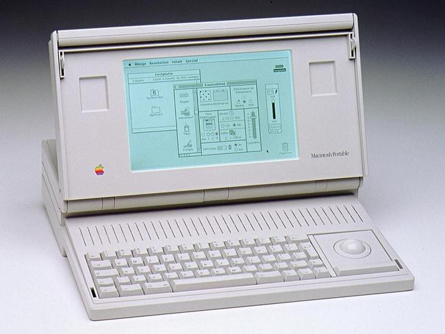 Ноутбук Macintosh Portable (1990 год)