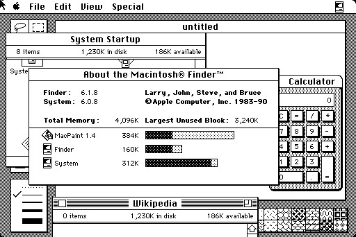Операционная система Macintosh System 6