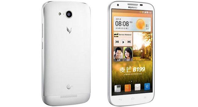 Huawei выпустила смартфон B199 с поддержкой двух SIM-карт