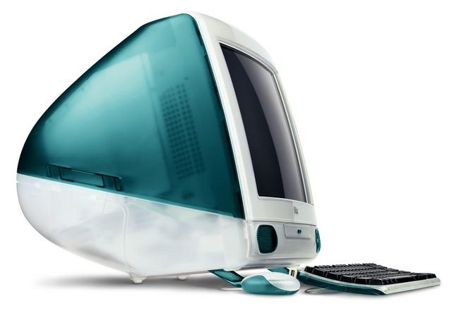 Моноблок Apple iMac G3 был доступен в тринадцати расцветках корпуса
