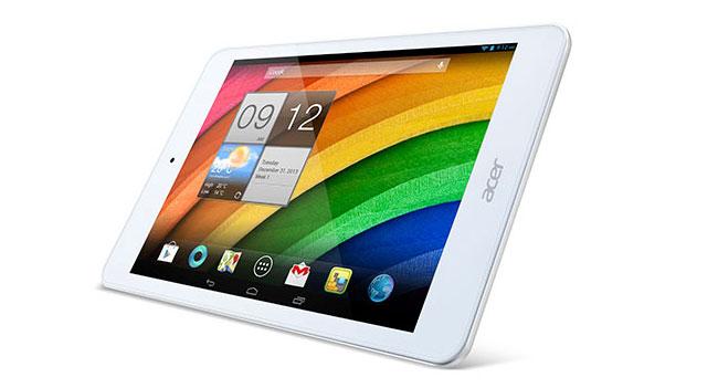Acer создала два доступных планшета Iconia