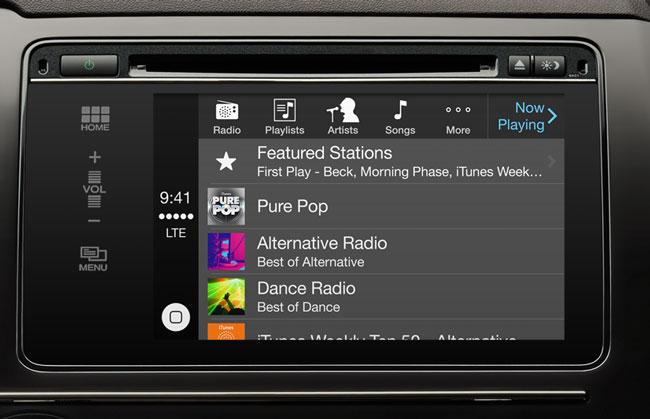 Apple заявила о запуске функции CarPlay, ранее известной как iOS in the Car