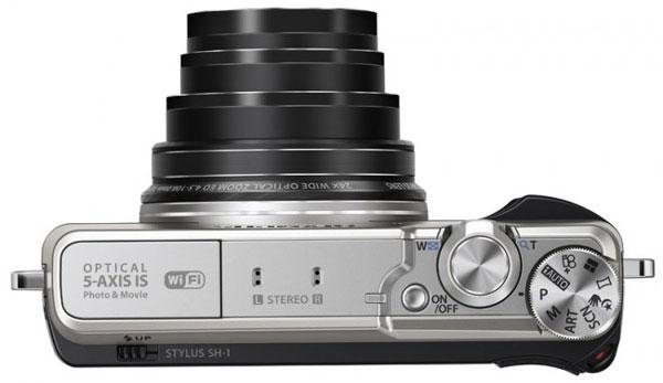 Olympus анонсировала компактную камеру Stylus SH-1 с 5-осевой системой стабилизации изображения