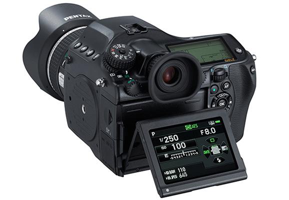 Pentax 645Z - новая среднеформатная цифровая камера