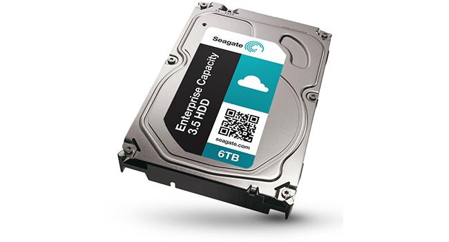 Seagate выпустила HDD емкостью 6 ТБ