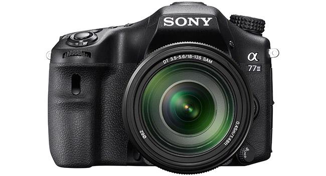 Sony представила зеркальную камеру α77 II