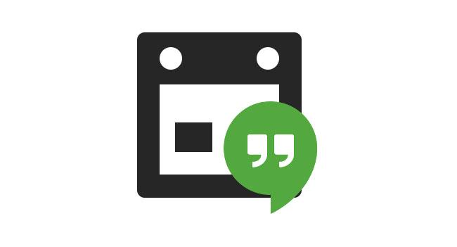 В Microsoft Outlook можно интегрировать поддержку видеовстреч Google Hangouts