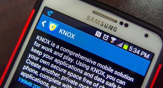 Мобильное ПО для обеспечения безопасности Samsung KNOX 2.0 теперь доступно для смартфона Galaxy S5