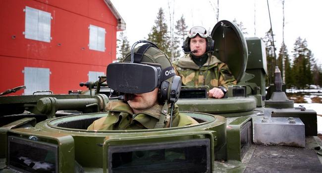 Oculus Rift в армии