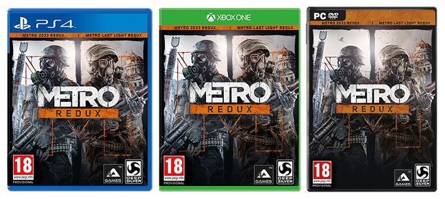 Официально анонсирован сборник Metro Redux для PC, PS4 и Xbox One