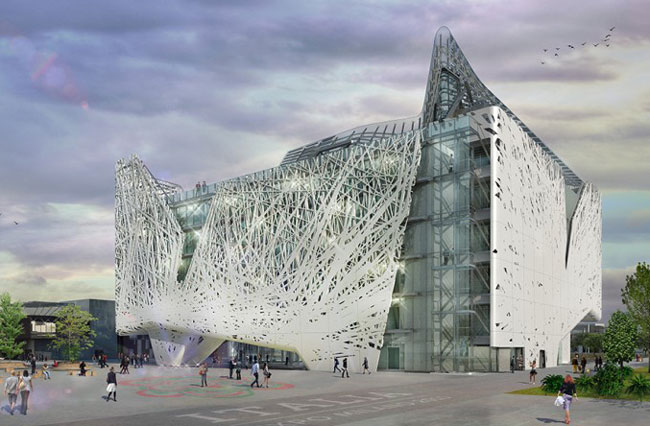 В Милане построят здание, очищающее воздух от смога