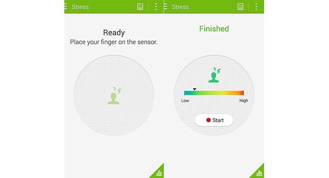Приложение S Health для Galaxy S5 научилось определять уровень стресса