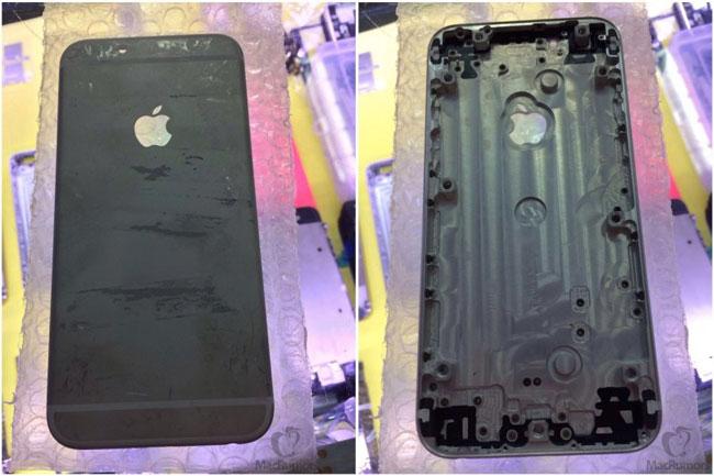В интернете появились фотографии и видео задней крышки смартфона Apple iPhone 6