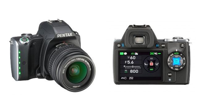 Pentax K-S1 - зеркальная камера с интегрированной подсветкой