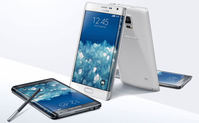 Samsung представила смартфон Galaxy Note Edge