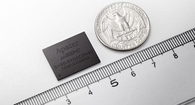 Apacer выпустила компактный SSD для беспилотных летательных аппаратов