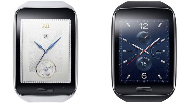 Samsung Gear S - умные часы с поддержкой сотовой связи