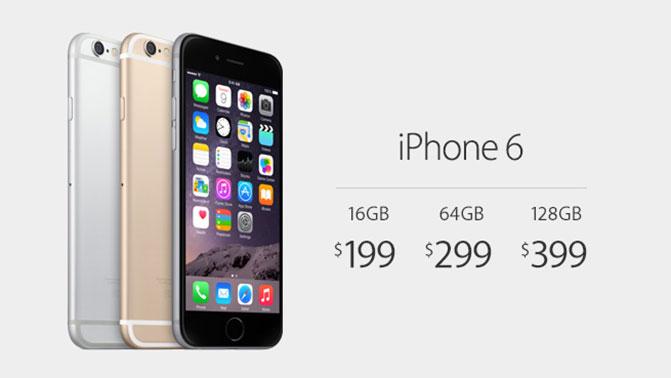 Apple официально представила смартфон iPhone 6