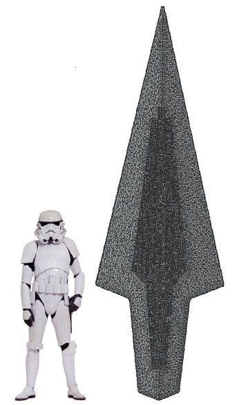 На Kickstarter собирают средства для создания макета звездного разрушителя Дарта Вейдера из кубиков Lego