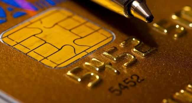 Closer look at credit card
