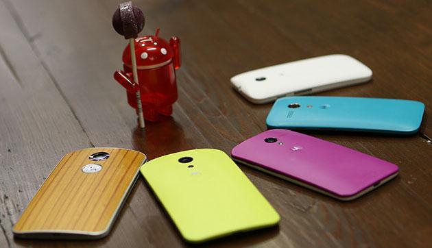 Ряд компаний намерены выпустить обновление до Android 5.0 для своих флагманов