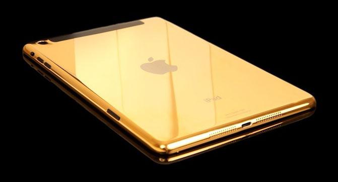 Apple выпустит планшет iPad в золотистом корпусе