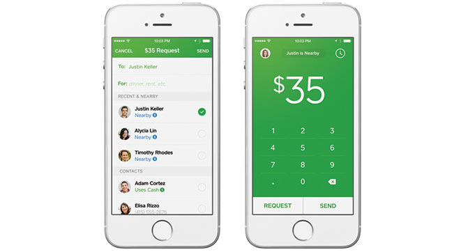 Приложение Square Cash для iOS 8 научилось передавать деньги через Bluetooth