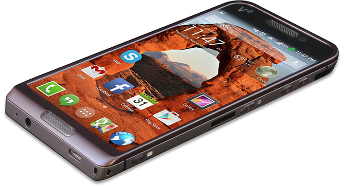 Saygus подготовила супер-смартфон V-Squared (V2) с поддержкой двойной загрузки