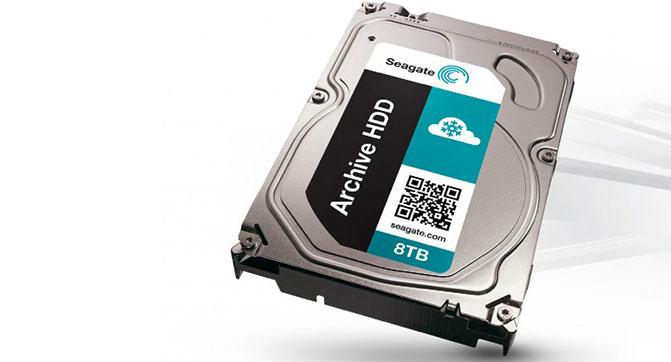 Seagate приступила к поставкам HDD серии Archive по цене $260 за модель емкостью 8 ТБ