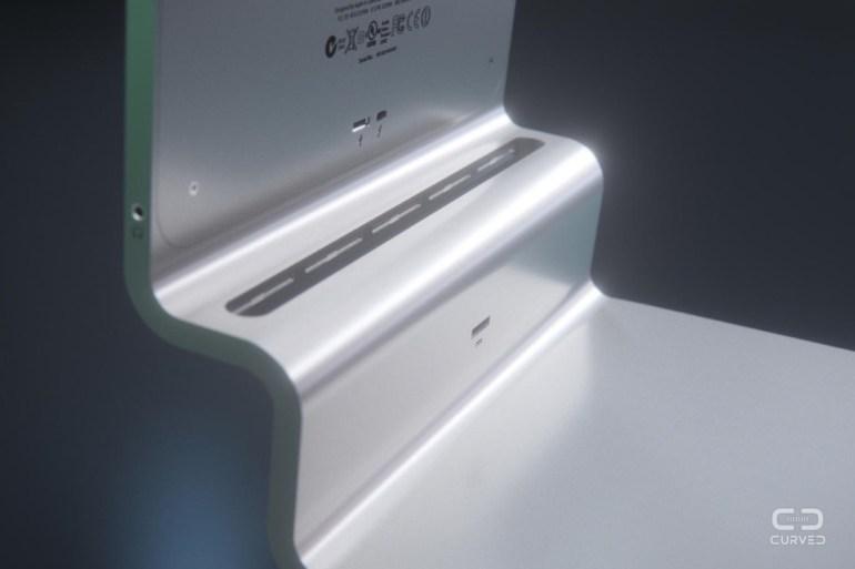 На корпусе устройства предусмотрены прорези для системы охлаждения