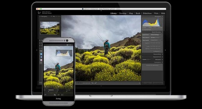 Adobe выпустила приложение Lightroom mobile для Android-смартфонов