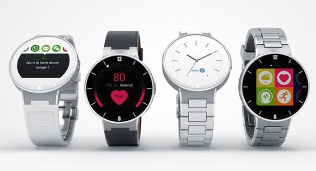 Alcatel покажет на CES 2015 собственные умные часы Watch