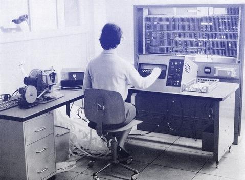 Linasec от Wang/Compugraphic: первая электронная машина работы Ван Аня