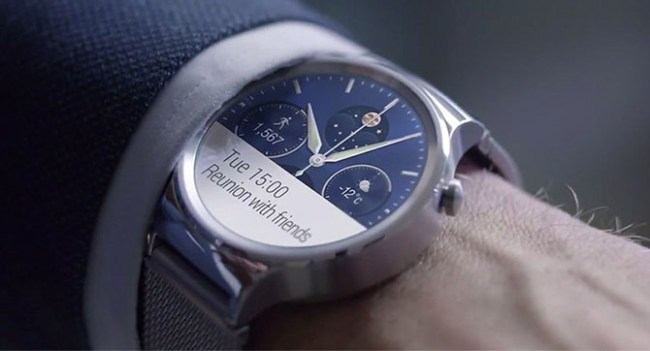Huawei анонсировала собственные умные часы Huawei Watch