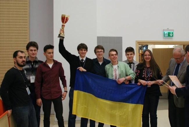 Украинские студенты-физики