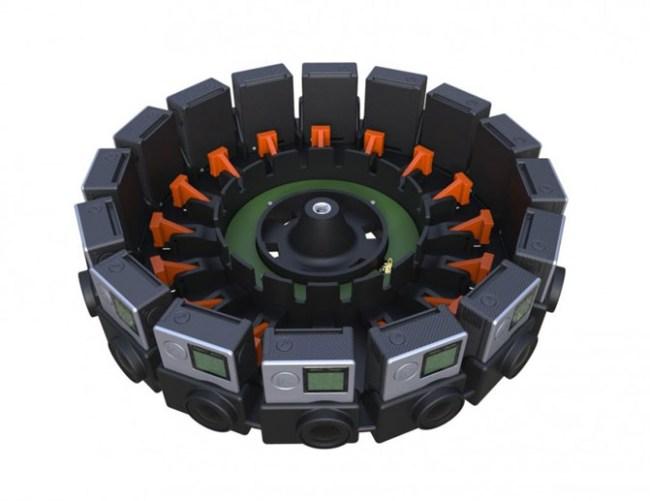 GoPro создала модуль из 16 камер для съёмки контента для платформы Google Jump