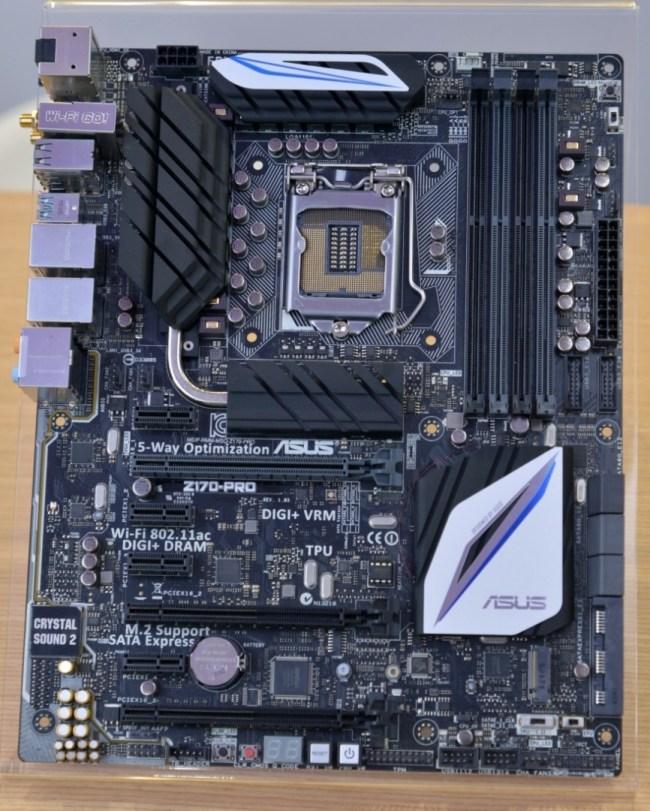 ASUS Z170 motherboard