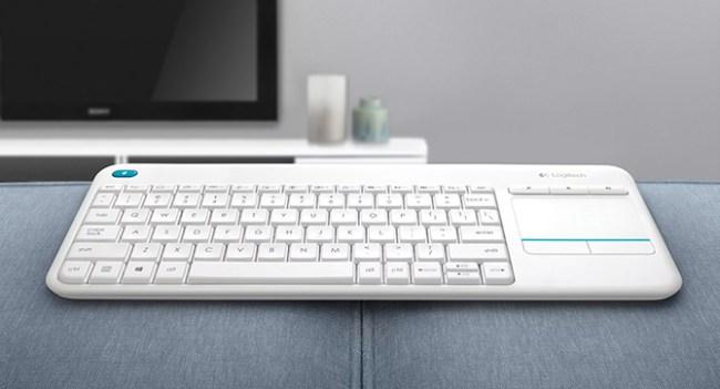 Logitech выпустила беспроводную клавиатуру Wireless Touch Keyboard K400 Plus