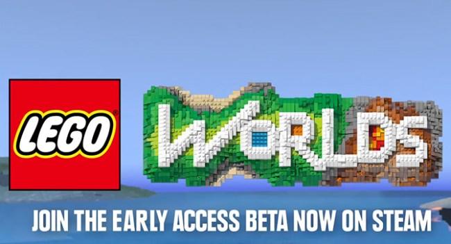 LEGO Worlds - аналог Minecraft от LEGO