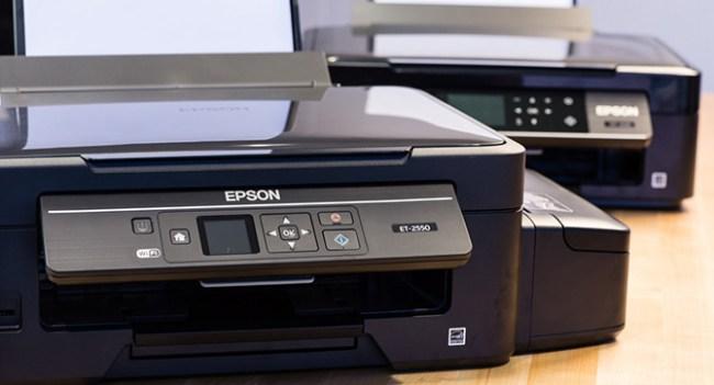 Epson выпустила струйные принтеры EcoTank, не использующие дорогие сменные картриджи
