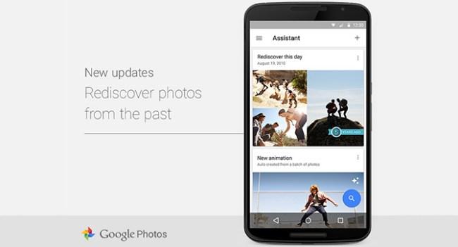 Google Photos теперь показывает снимки, сделанные в эту дату в предыдущие годы