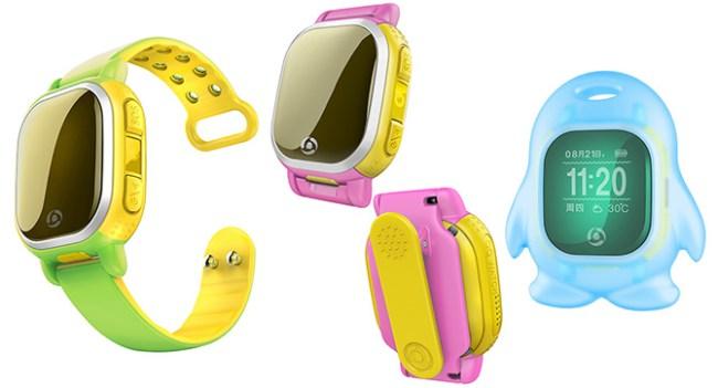 Tencent анонсировала умные часы QQ Watch для детей