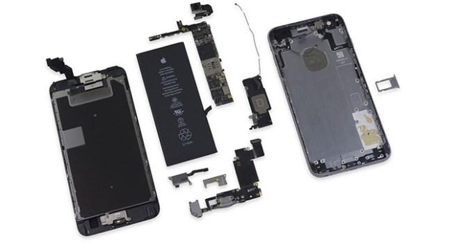 Эксперты Fixit также вскрыли смартфон Apple iPhone 6s Plus