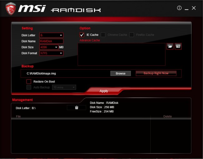 MSI_Z170A_Gaming_M5_Ramdisk
