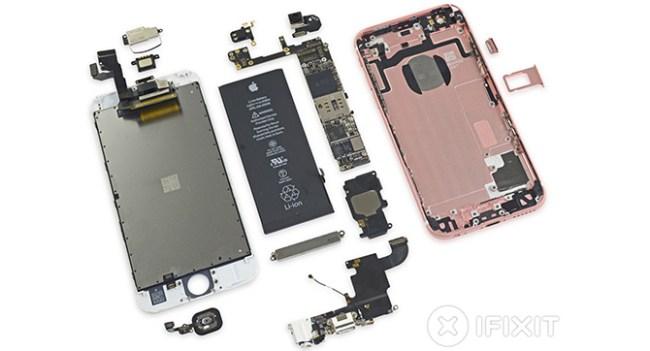 Специалисты Fixit разобрали новый смартфон Apple iPhone 6s
