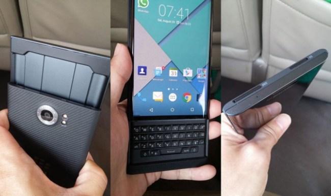 Android-смартфон BlackBerry получит название Priv
