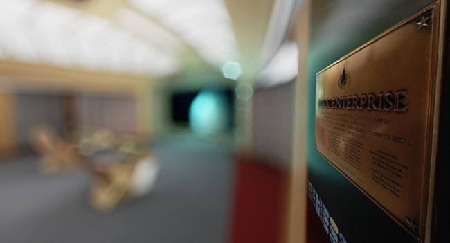 Фанат Star Trek создал виртуальную копию звездолёта Enterprise